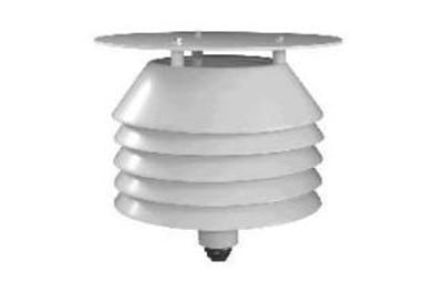 Temperature transducer for indoor and outdoor use