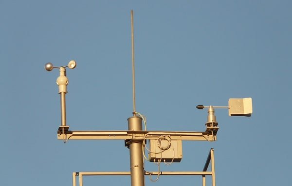 Weather stations and sensors