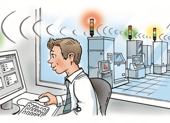 Monitoraggio wireless